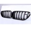 Fits BMW F06/F12/F13 640i 650i 2Dr/4Dr Gloss Black Front Kidney Grille 12-17